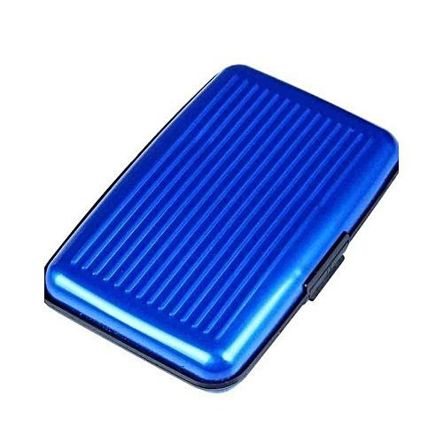 ATM/Business Card Holder - Blue