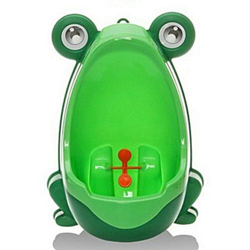 Cute Frog Shaped Kid Baby Potty Toilet Training Urinal Boys Pee Trainer Bathroom RM