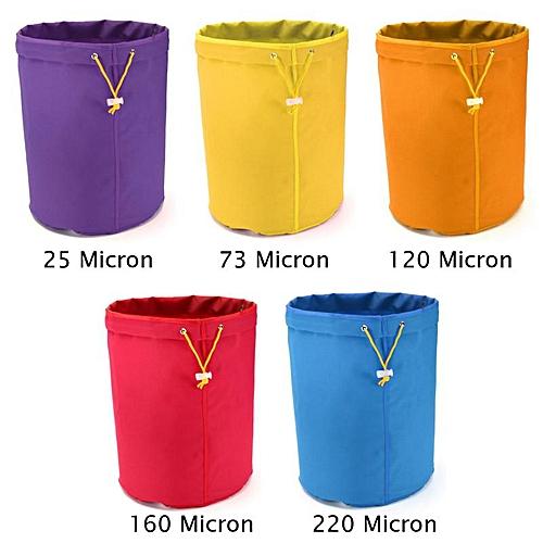 5PCS 1 Gallon Bubble Bag Multi-color Herb Filter Bag Plant Residue Filter Bag