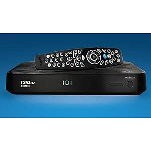Dstv New Explora Decoder(Explora 2) With Dish Accessories+compact Subscription