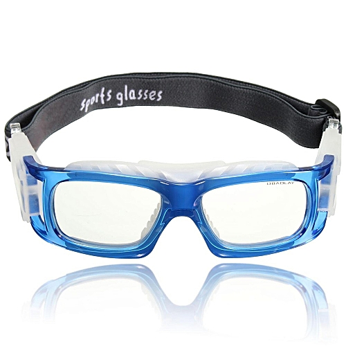 33f9d4e3ed Generic Basketball Cycling Football Sports Protective Eyewear Goggles Eye Safety  Glasses Blue