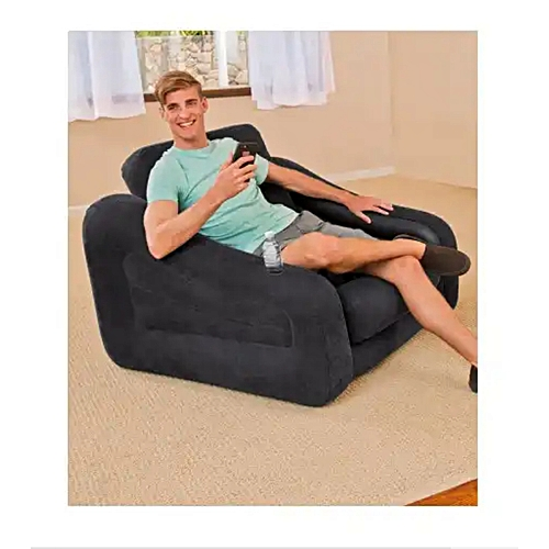 #68565 - INTEX INFLATABLE PULL-OUT CHAIR WITH PUMP -SINGLE PERSON