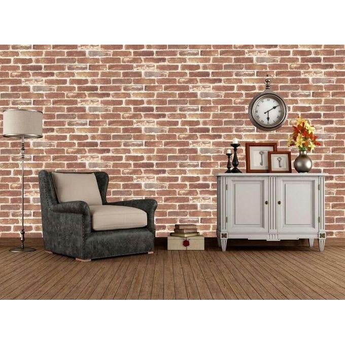 Generic 3d Rustic Brick Wallpaper Buy Online Jumia Nigeria