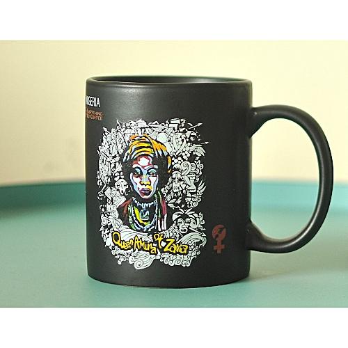 Queen Amina Noir Mug