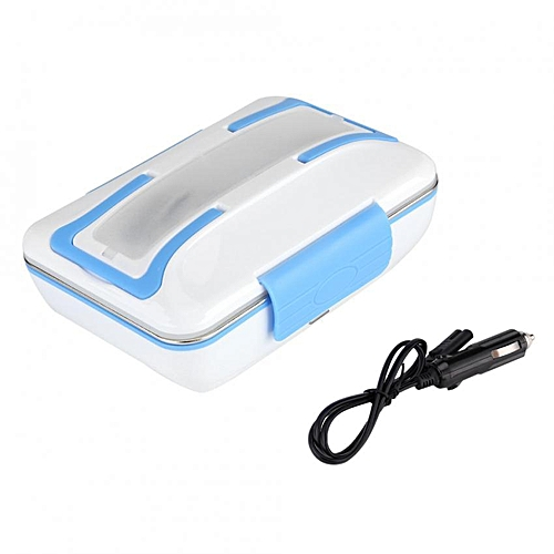 SHANYU 12V 40W Electric Heating Lunch Box Stainless Steel Food Container For Car Use