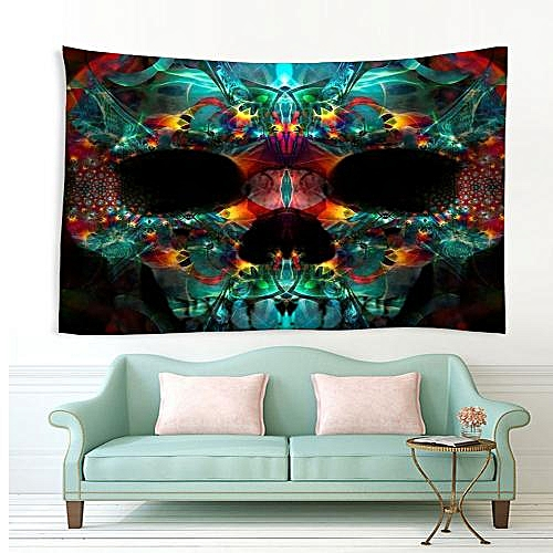 Home Wall Decoration Polyester Printed Tapestry - Multi-A