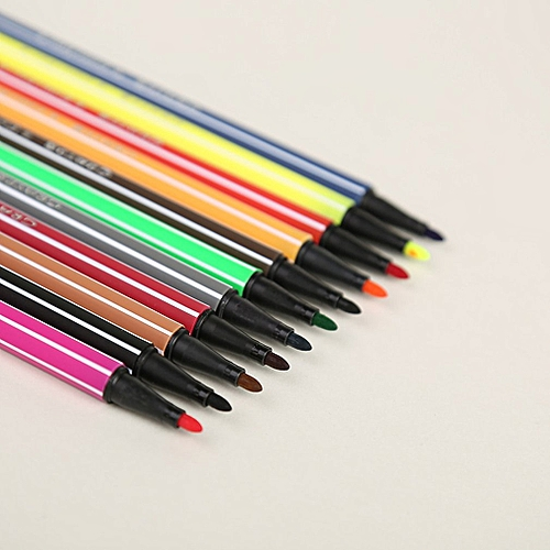 Marker Set Water Color Pen Painting Pencils Pen Brush Markers For Kids Art Random
