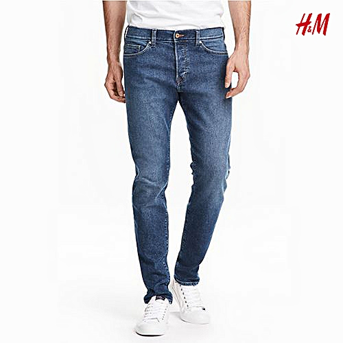 Men Slim Jeans - Blue