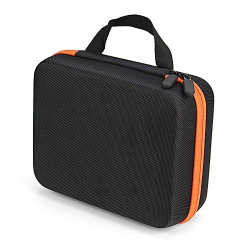 30 Bottle Aroma Essential O Il Storage Case Travel Portable Carrying Bag AU Stock - Orange Zipper
