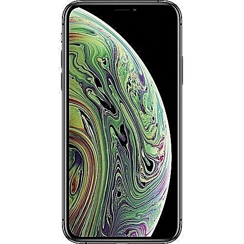 IPhone XS Max (4GB RAM, 512GB ROM) IOS 12 (12MP + 12MP)+7MP - Silver + Free Pouch