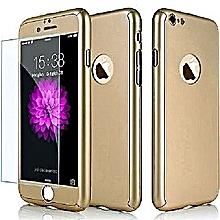 IPhone 6s Plus 6 Plus 360 DEGREE Case - Gold