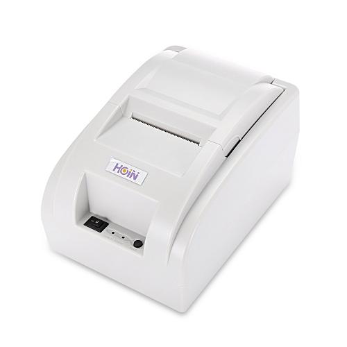 HOIN HOP - H58 USB / Bluetooth Thermal Cash Receipt Printer POS Printing Instrument