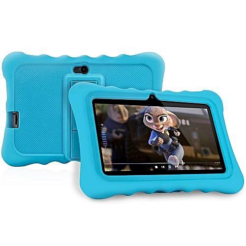 "Q88 - 7"" Android 7.1 Kid Tablet PC 1G/8G Dual Cameras OTG - Blue"