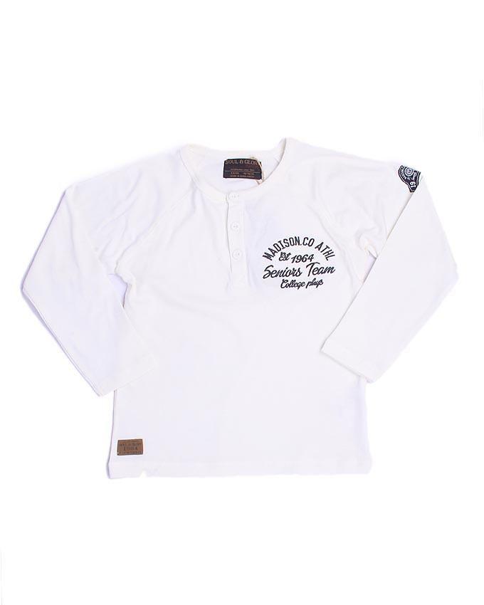 Ohio 7 Long Sleeve T-shirt - White