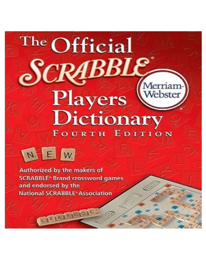 The Official Scrabble Dictionary - 4th Edition by Merriam Webster