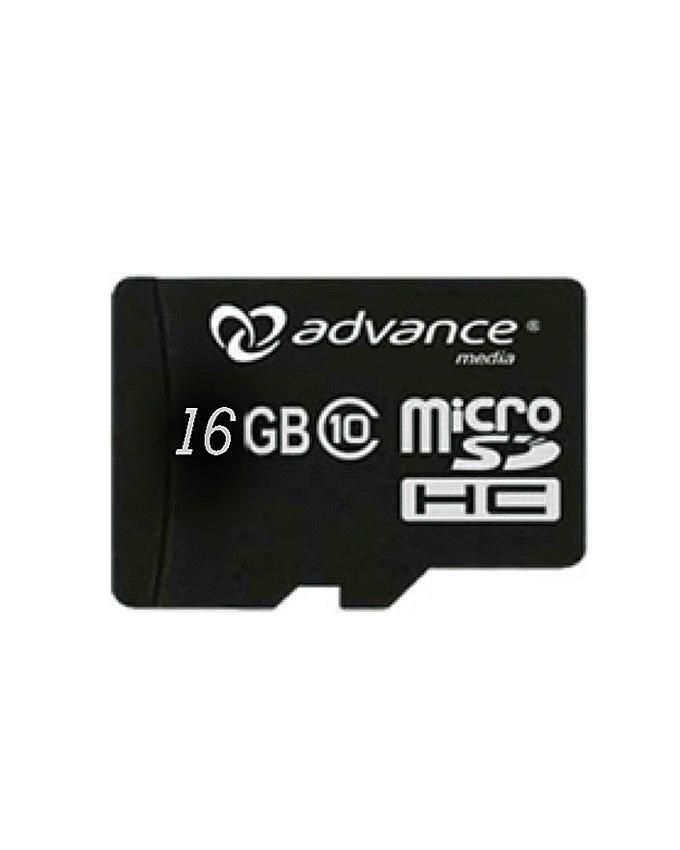 Advance 16GB Micro Memory Card - Black