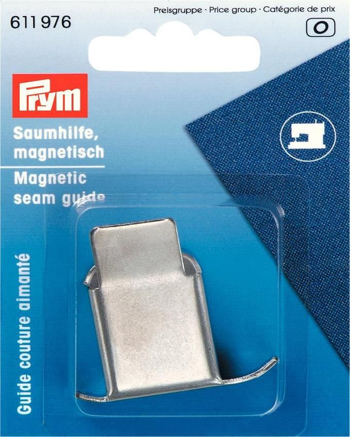 Magnetic Seam Guide For Sewing Machines