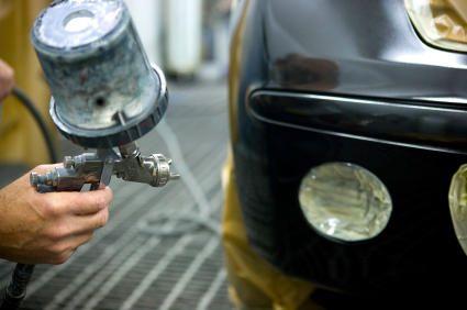 Oven Bake Car Respraying + Minor Body Work + Headlamp Cleaning
