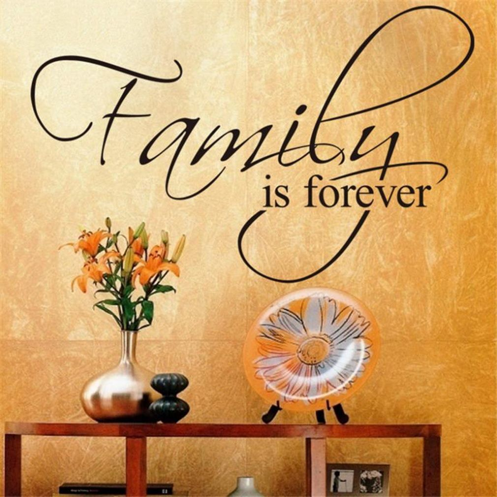Allwin family is forever removable art vinyl wall stickers for Home decorations on jumia
