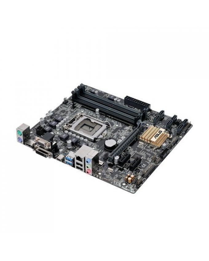 ASUS LGA1151 DDR4 HDMI DVI SATA 6Gb/s USB 3.0 B150 Micro ATX Motherboard DDR4 B150M-A