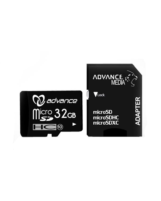 MicroSDHC Memory Card 32GB - Black