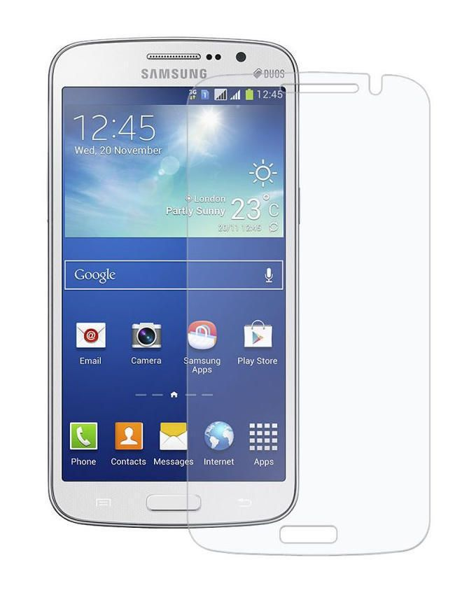 Tempered Glass Screen Protector For Samsung Galaxy Grand 2- White