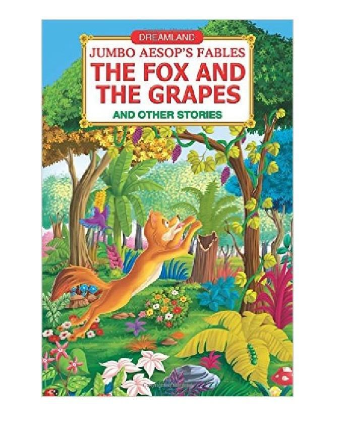 JUMBO AESOP'S FABLES: THE FOX AND THE GRAPES, AND OTHER STORIES
