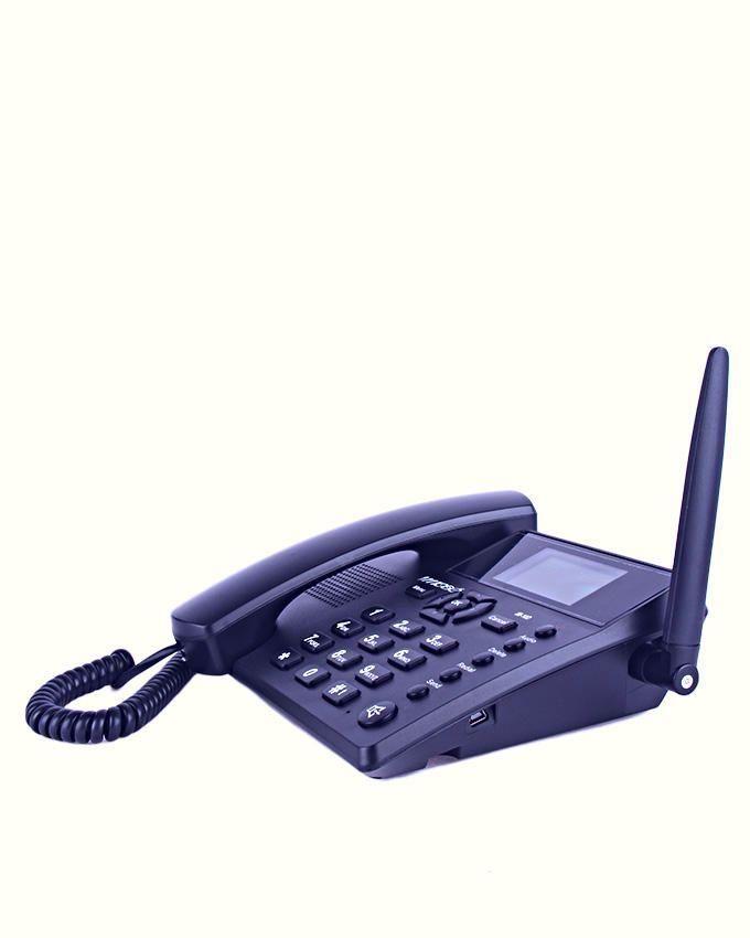 IM-10 Desktop GSM Phone Dual Sim - Blue