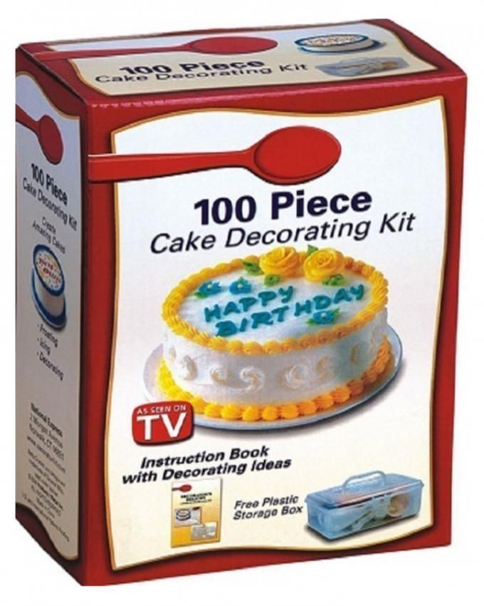 Kit Iniciacao Cake Design : Universal 100Pc Cake Decorating Kit Buy online Jumia ...