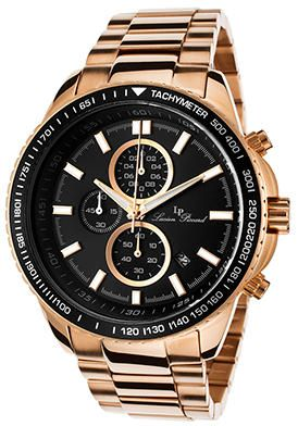 Men's Cartagena Chronograph Dial Watch 12552-RG-11 - Gold
