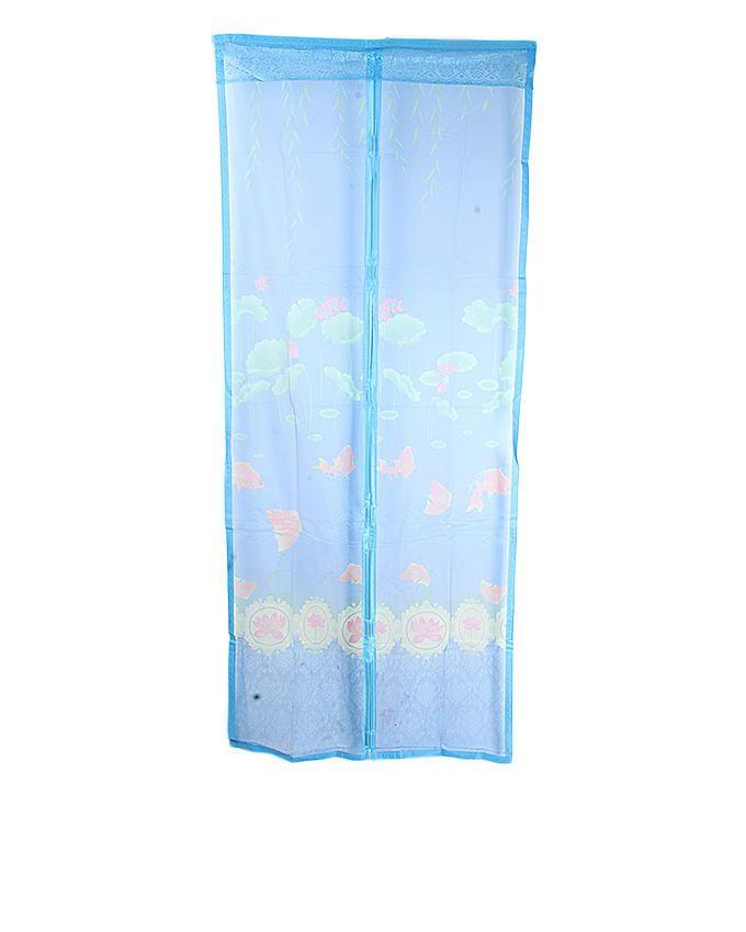 Magnetic Door Mesh - 90cm * 210cm (Blue)