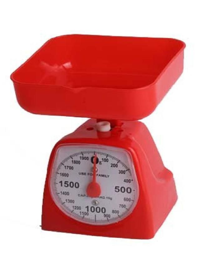 Kitchen Scale - Red