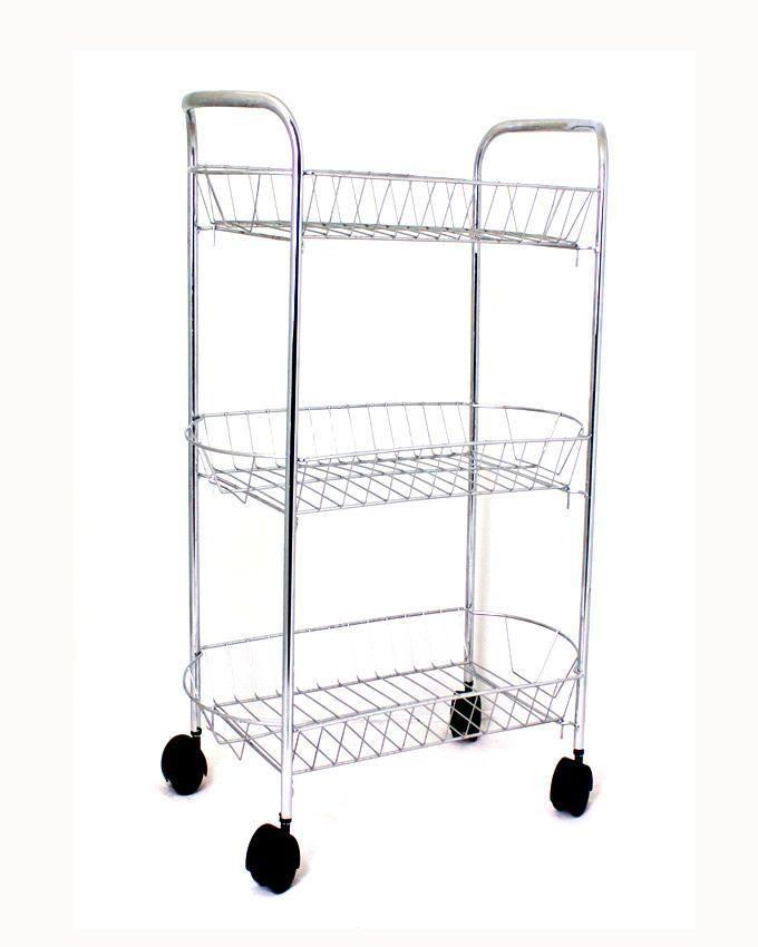 universal 3 tier kitchen trolley