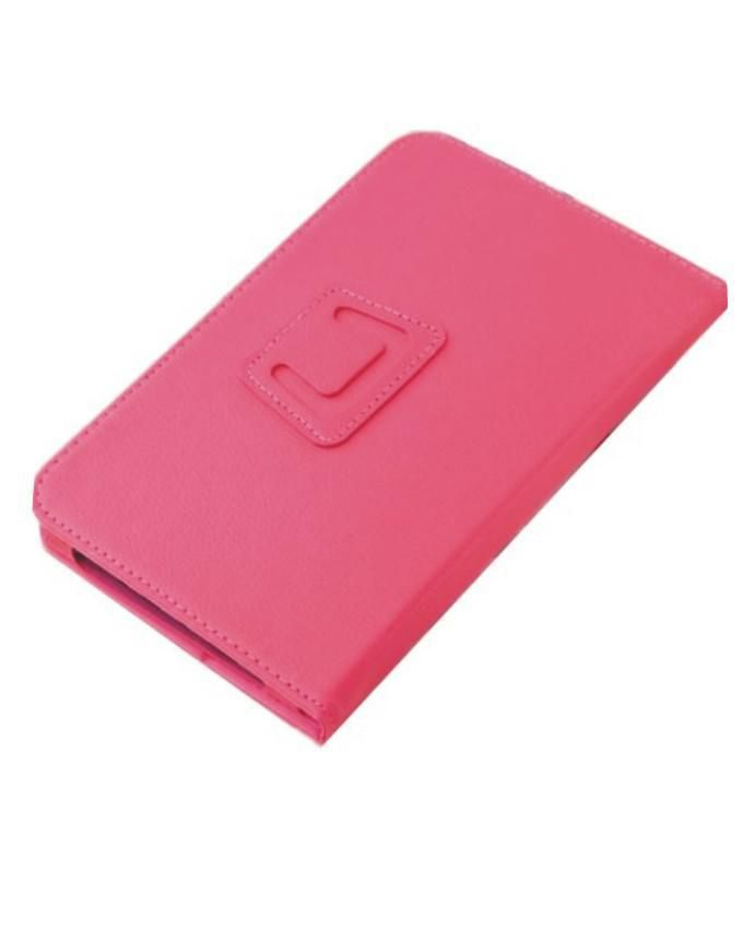 7 Inches Tablet Leather Case - Pink