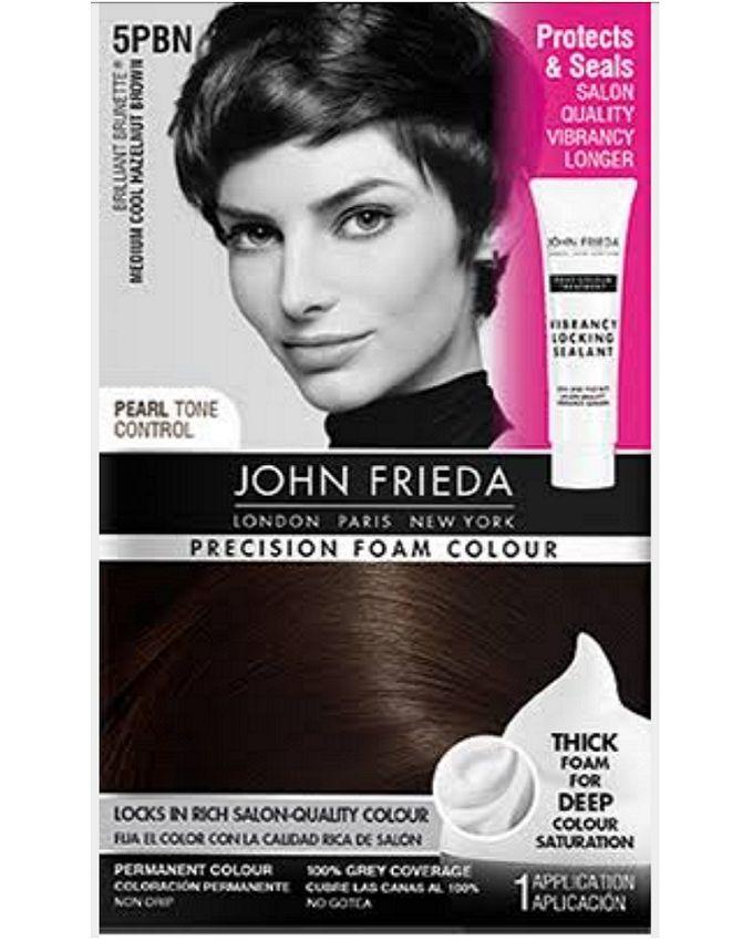John Frieda Precision Foam Colour Medium Cool Hazelnut Brown