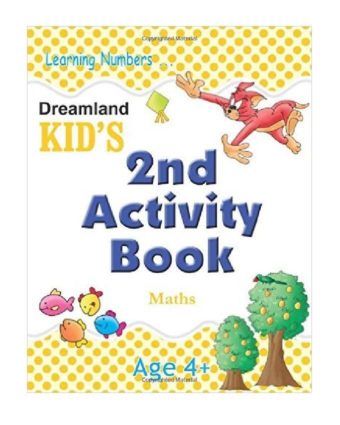 Kid's 2nd Activity Maths Book - Ages 4+
