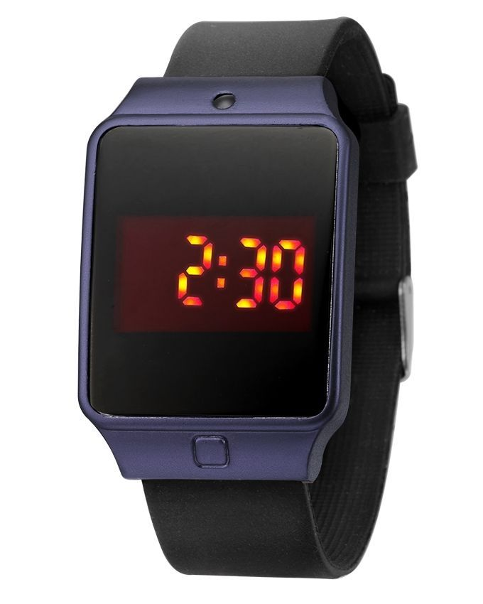 how to set led watch touch screen