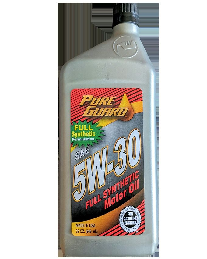 Pure guard full synthetic 5w30 sn cf c3 engine oil buy for Pure synthetic motor oil