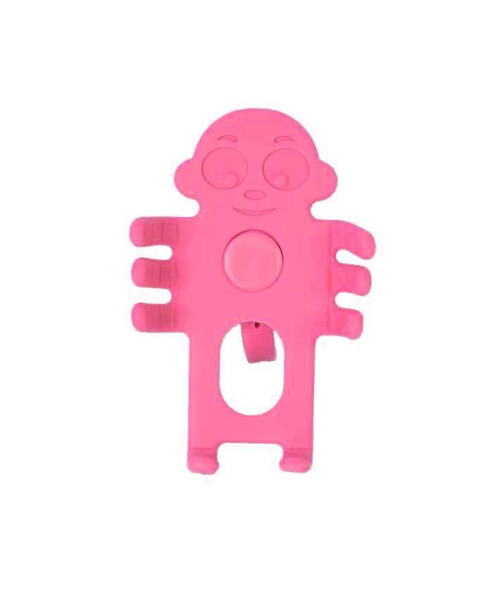 Animated Car Phone Holder - Pink