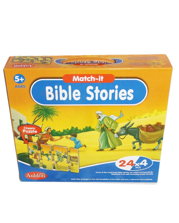 Bible Stories Puzzles - Multi