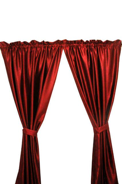 Sweet William Curtains With Tie-Backs