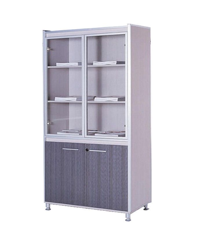 Nova 4-Door Office Shelf