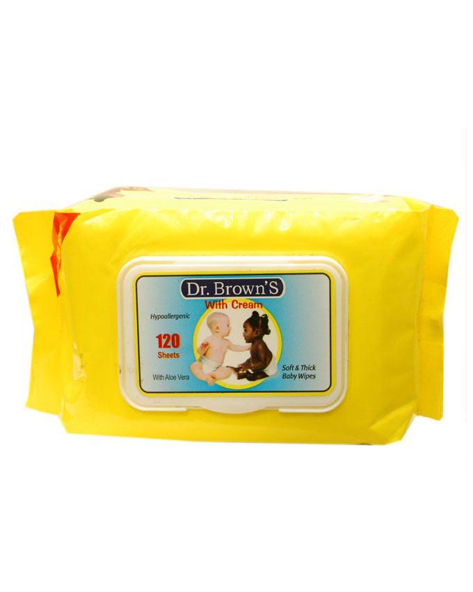 Baby Wipes With Cream - 120pcs