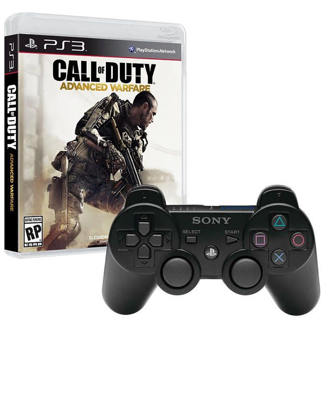 PS3 Wireless Controller + Call of Duty: Advanced Warfare