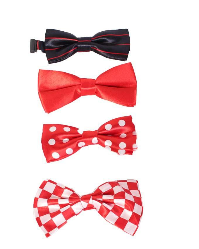 4pcs Polka Dots Bow Tie For Baby/Toddler with Adjustable Strap - Multicolour