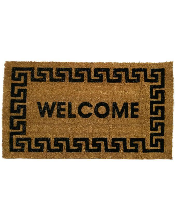 Welcome Coconut Entrance Door Mat-2.5ft x1.5ft