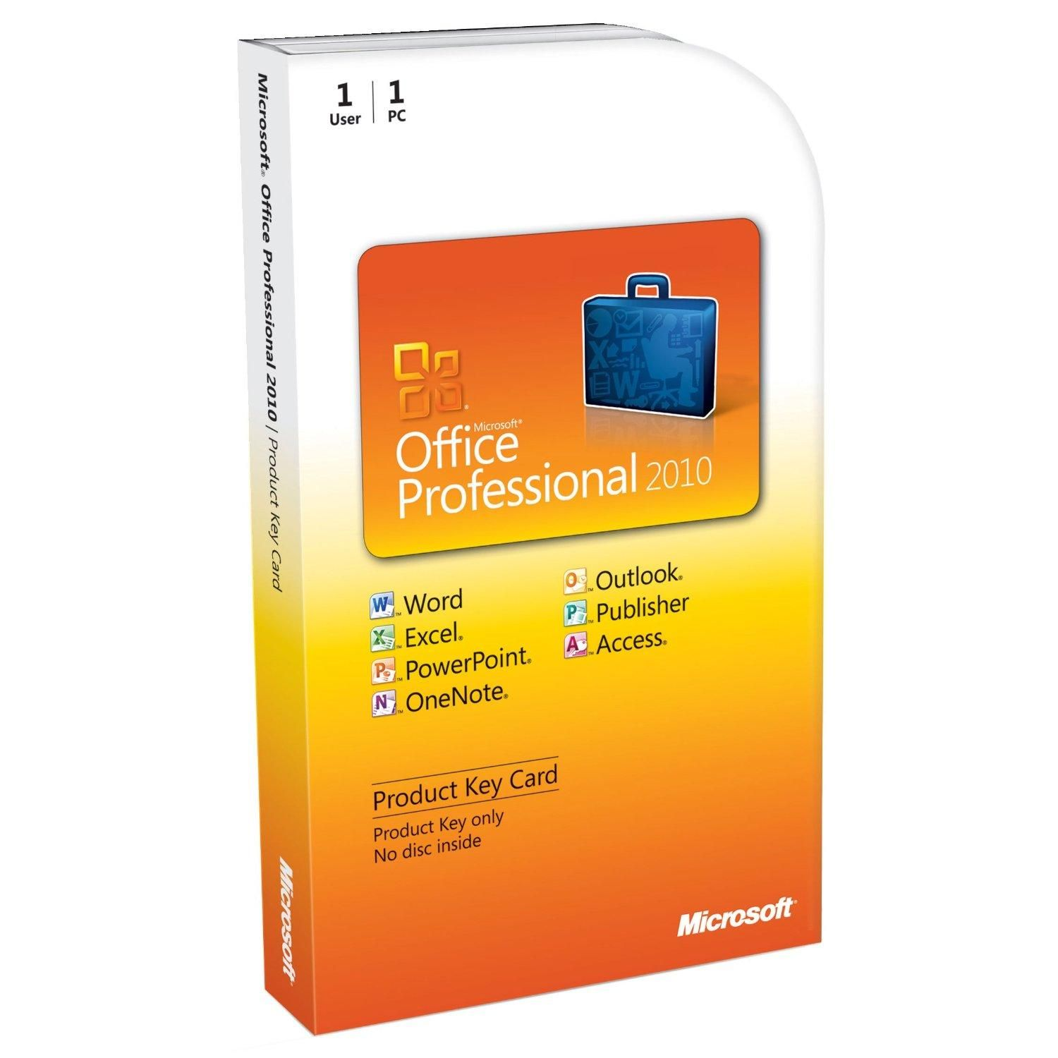 Office Professional 2010 PKC