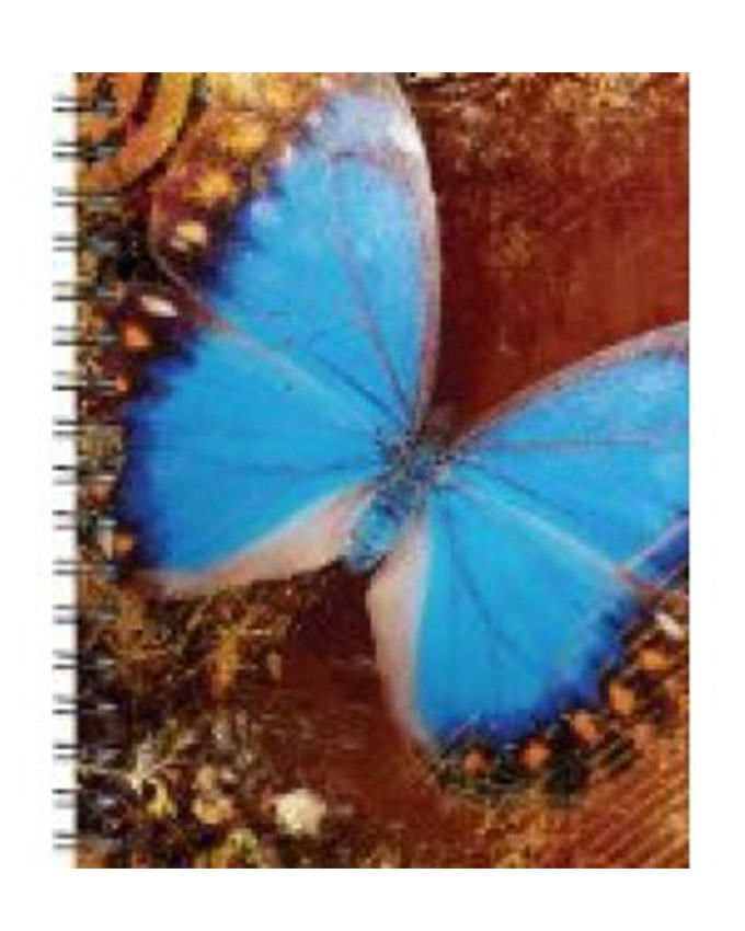 Wire-O Journals- Blue Butterfly