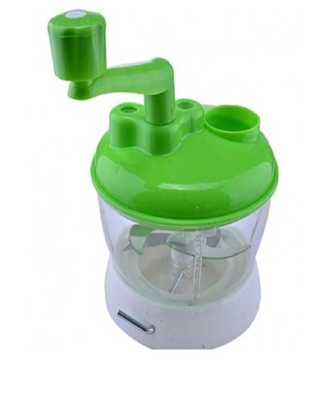 Multi-functional Vegetable Spinning Grater With Bowl Collector - Green