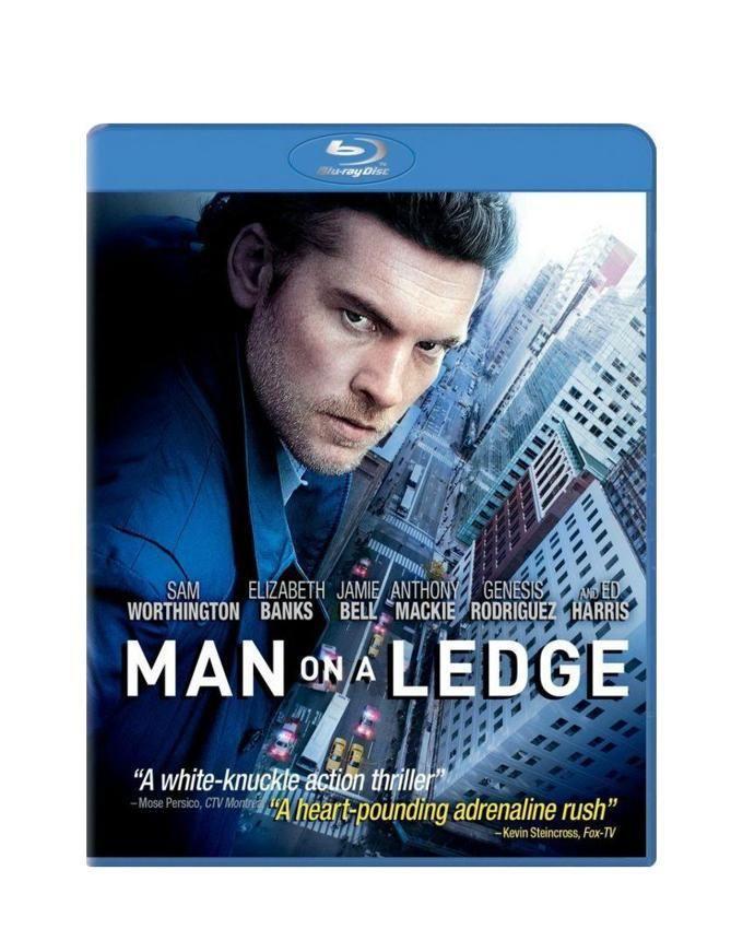 Blu-Ray Disc - Man On A Ledge